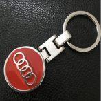 Audi 3D Autó Embléma Kulcstartó