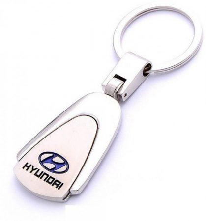 Hyundai Metál Autós Kulcstartó