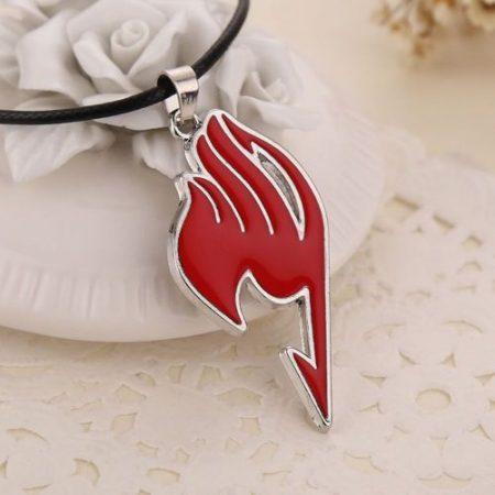 Fairy Tail Piros Nyaklánc