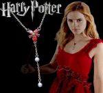 Harry Potter Hermione Horcrux Virág Nyaklánc