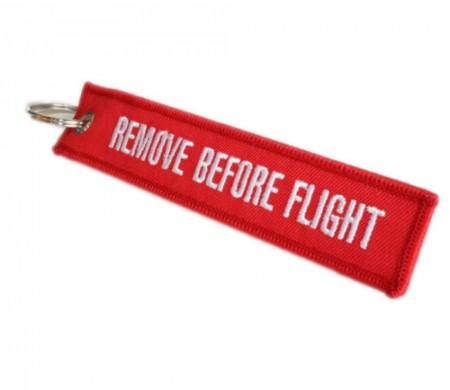 Remove Before Flight Repülős Kulcstartó