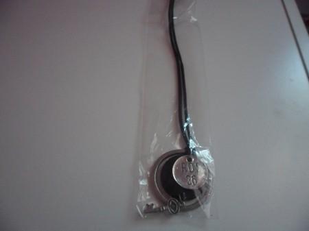 ROS 36 Bőr Kulcs Nyaklánc