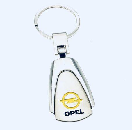 Opel Metál Autós Kulcstartó