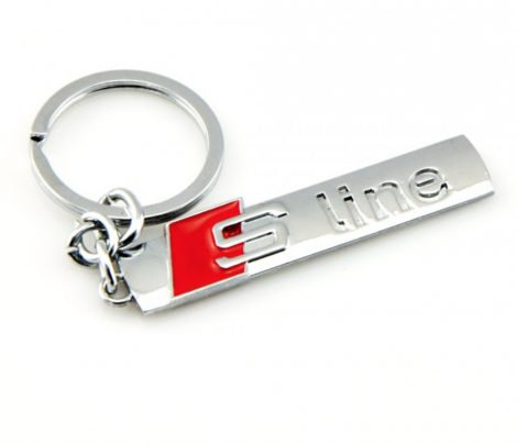 Audi S Line Autós Kulcstartó