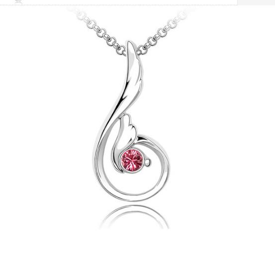 Köves Női Pink Nyaklánc - Ezabolt.hu - Ékszer ajándék webáruház 854b941c5f