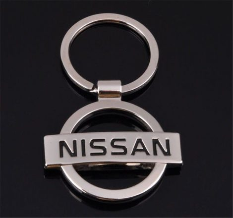 Nissan 3D Autós Kulcstartó