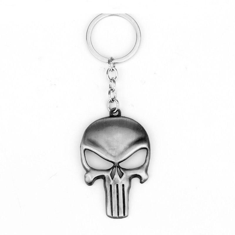 26fc367870 The Punisher Koponya Kulcstartó Ezüst - Ezabolt.hu - Ékszer ajándék ...