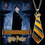 Harry Potter Hugrabug Nyakkendő Nyaklánc