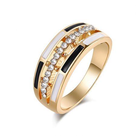 Kristályos Luxus Női Gyűrű 03