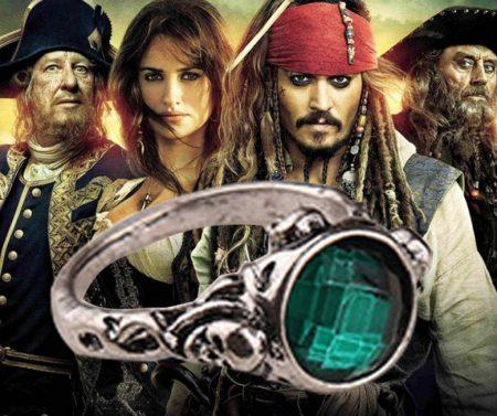 Jack Sparrow Karib Tenger Kalózai Gyűrű Több Méretben