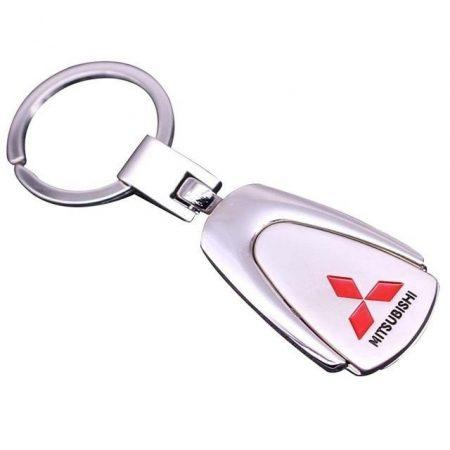 Mitsubishi Metál Autós Kulcstartó