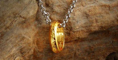 Gyűrűk Ura Frodó Gyűrű + Nyaklánc