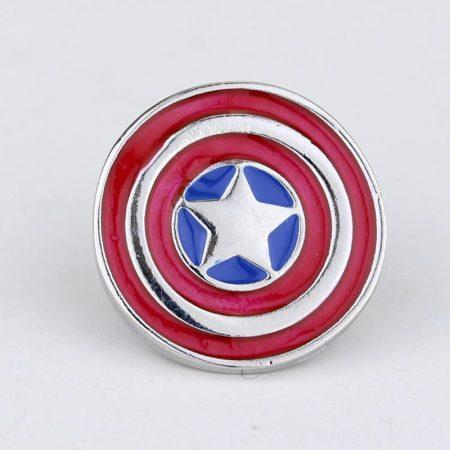 Amerika Kapitány Pajzs Bross Kitűző