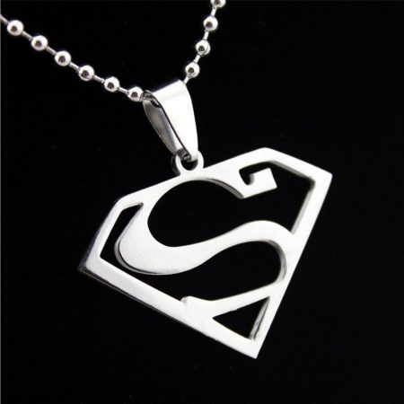 Superman Szuperhős Nyaklánc