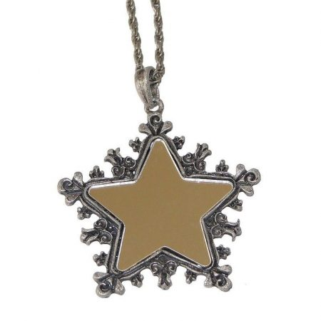 Csillag Tükör Nyaklánc