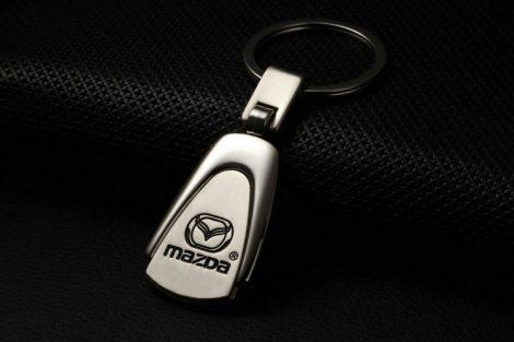Mazda Metál Autós Kulcstartó