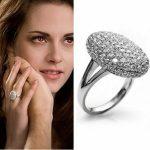 Alkonyat Bella Twilight Kristályos Gyűrű