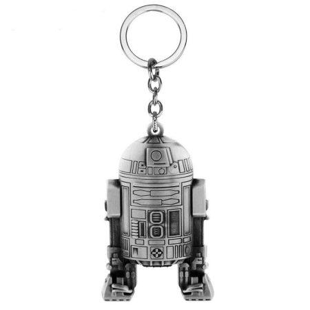 Star Wars R2D2 Artu Kulcstartó Ezüst Szín