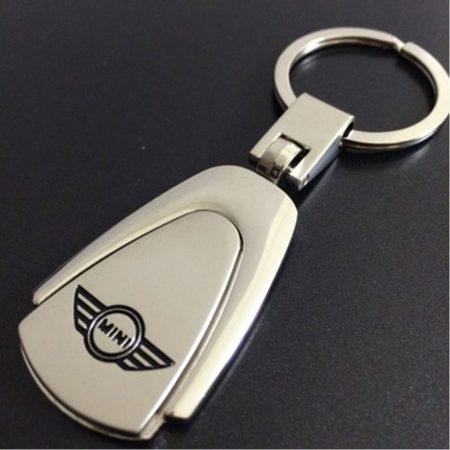 BMW Mini Autós Metál Kulcstartó