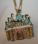 Disney Kastély Hercegnő Nyaklánc