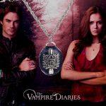 Vámpírnaplók Damon Salvatore Vampire Diaries Nyaklánc