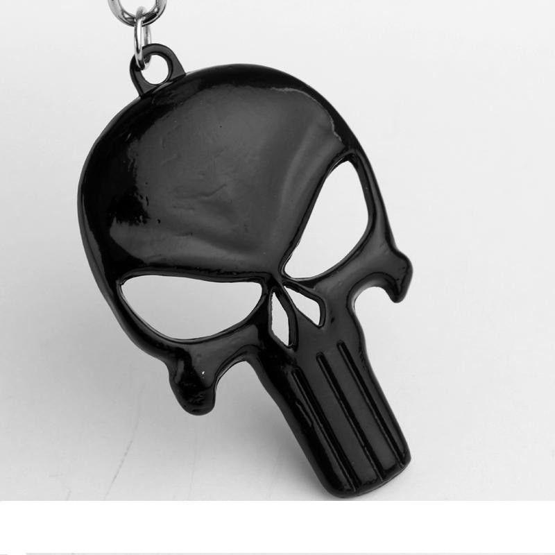 4f15d5a3e2 The Punisher Koponya Kulcstartó Fekete - Ezabolt.hu - Ékszer ajándék ...