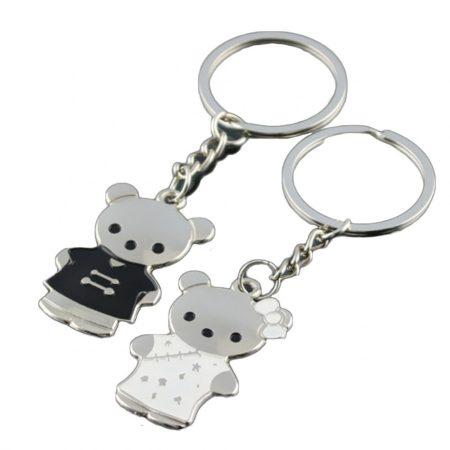 Maci Medve 2db-os Kulcstartó Szett