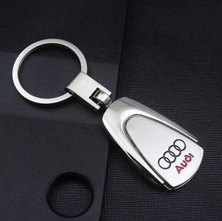 Audi Metál Autós Kulcstartó