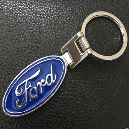 Ford 3D Autó Embléma Kulcstartó