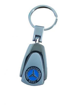 Mercedes Benz Metál Autós Kulcstartó
