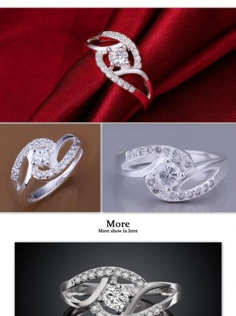 Kristályos Női Gyűrű