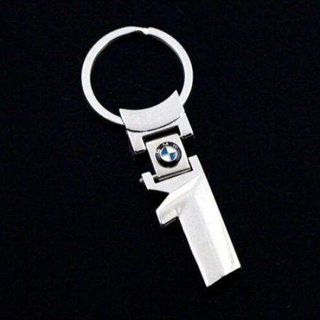 BMW 1 Fém Kulcstartó