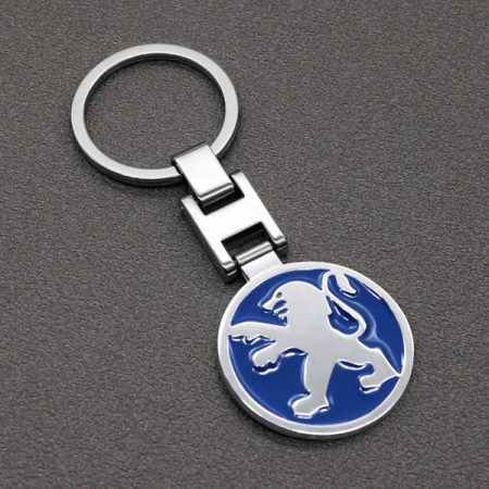 Peugeot 3D Autó Embléma Kulcstartó