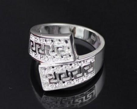 Görög Mintás Női Gyűrű