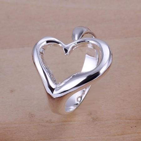 Szív Szíves Női Állítható Gyűrű