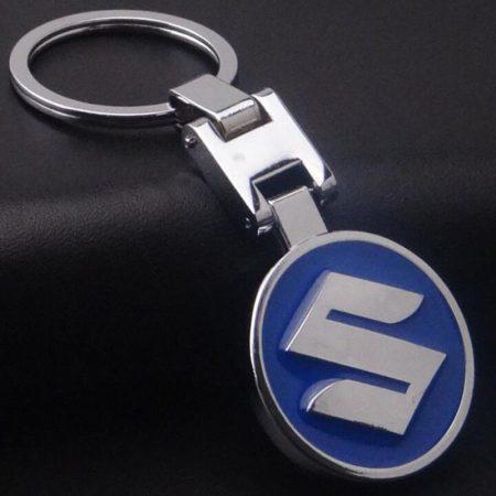 Suzuki 3D Autó Embléma Kulcstartó