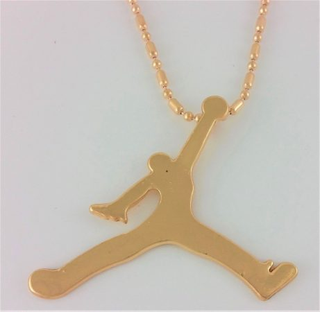 Michael Jordan Kosárlabda Nagyméretű Nyaklánc