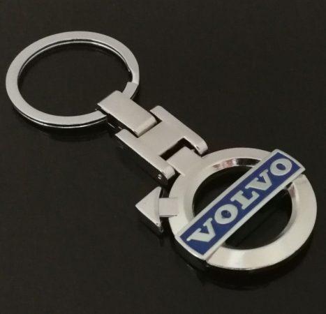 Volvo 3D Autó Embléma Kulcstartó
