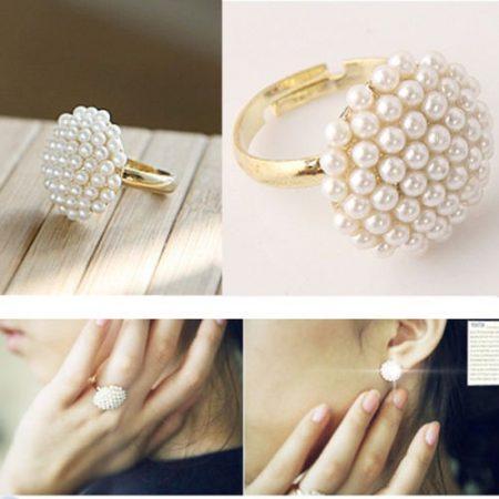 Gyöngyös Női Gyűrű