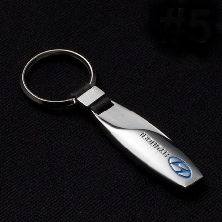 Hyundai Fém Kulcstartó