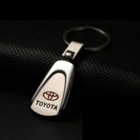 Toyota Metál Autós Kulcstartó