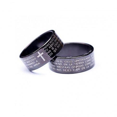 Kereszt Biblia Szöveg Gyűrű