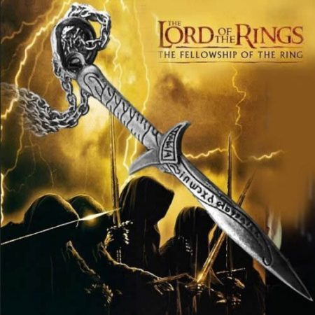 Gyűrűk Ura Hobbit Kard Nyaklánc