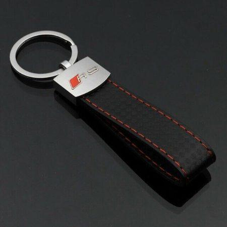 Audi RS Bőr Kulcstartó