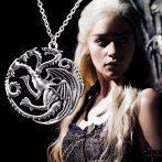 Trónok Harca Game Of Thrones Targaryen Ház Sárkány Nyaklánc