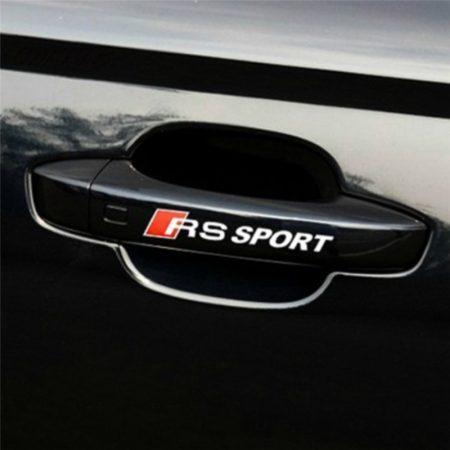 Audi RS Sport Matrica Fehér 4db-os Szett