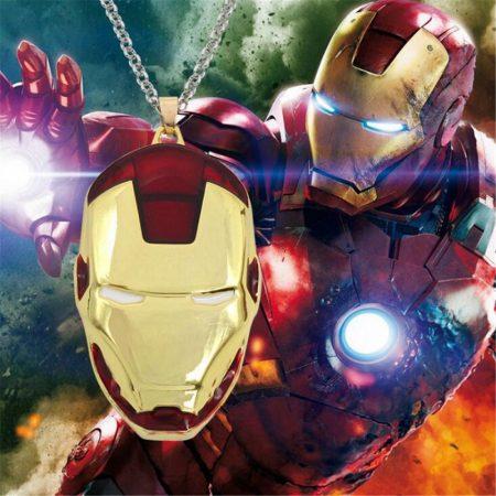 Vasember Iron Man Nyaklánc
